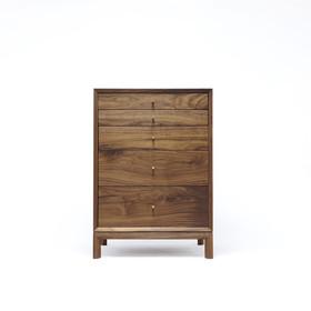 Walnut Single Drawer