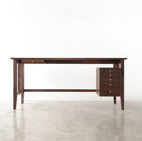 Walnut Desk with Drawers