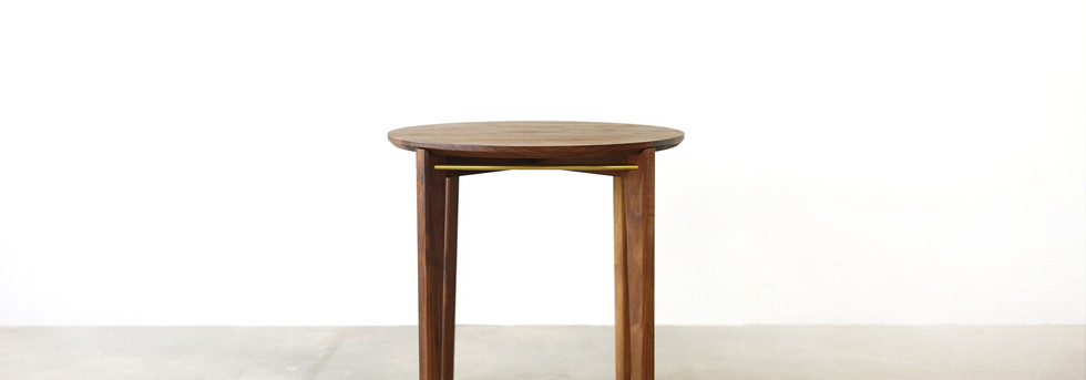 Brass Round Tea Table-1