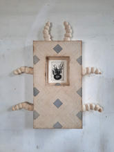 Wall Piece no. 5 (six-legged) w/ Portrait of a Family as an insect