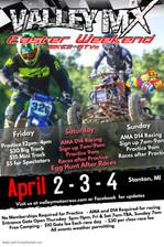 EASTER WEEKEND April 2-3-4  BIKES + ATVS