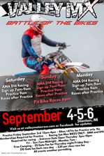 Labor Day Weekend September 3-4-5-6