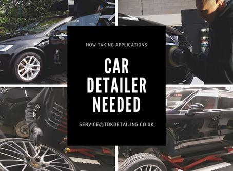Careers - Car Detailer - Brilliant Opportunity