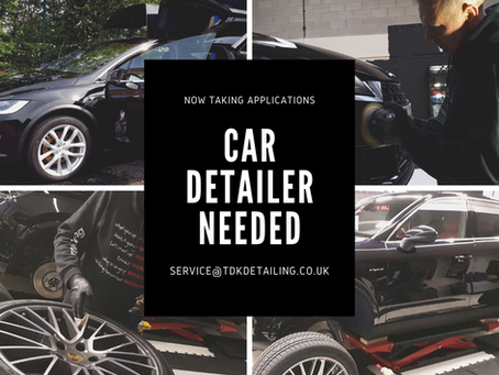 Careers - Car Detailer - Brilliant Opportunity