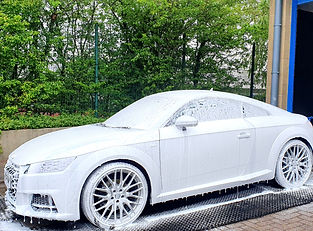 Audi Maintenance Wash