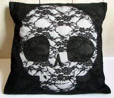 Pullip skull hand made cushion
