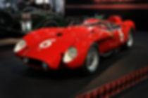 Ferrari Testa Rossa Classic Car Reverse