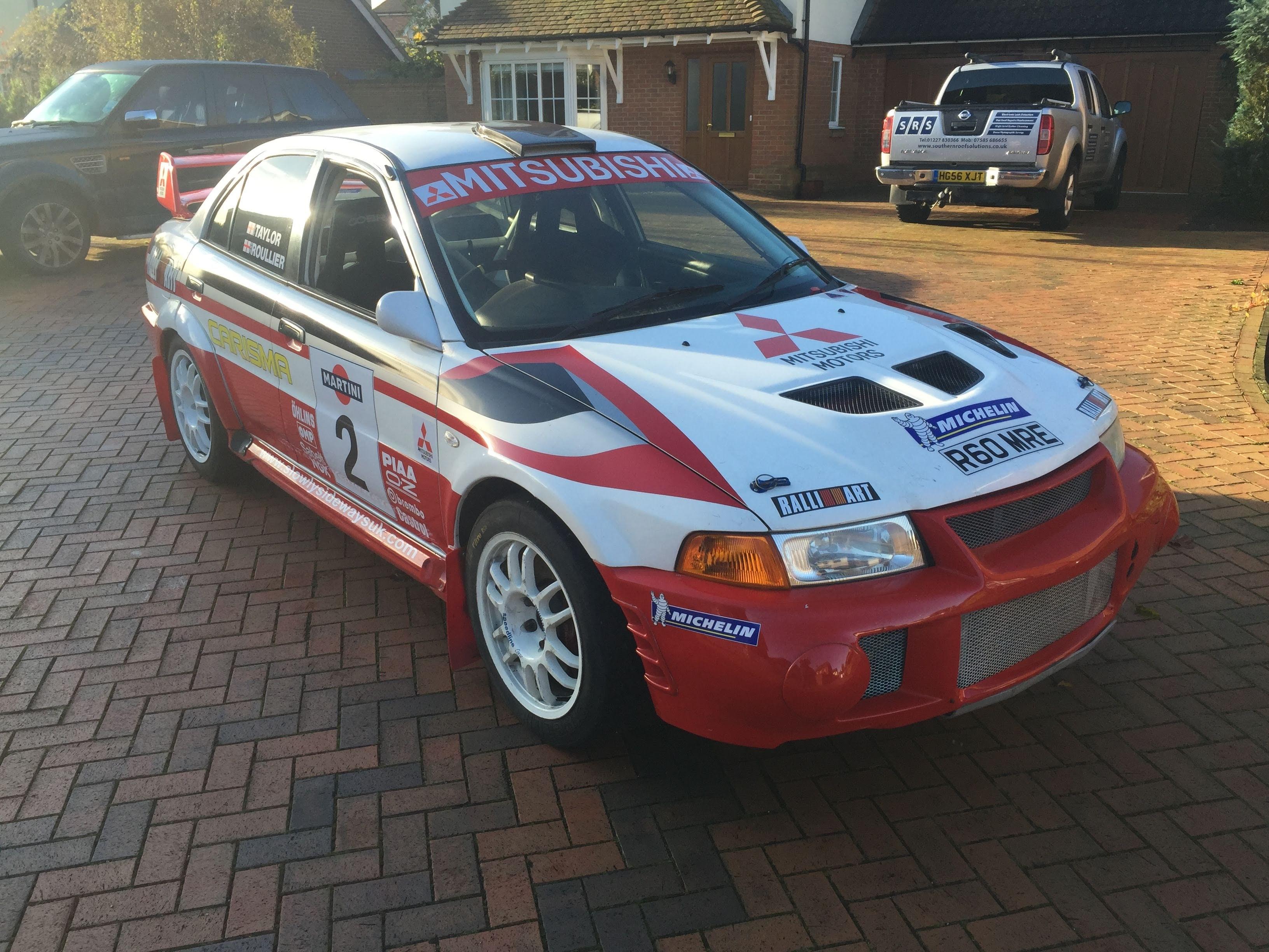 Mitsibushi Evo 6 Rally Car - R60 MRE Fro