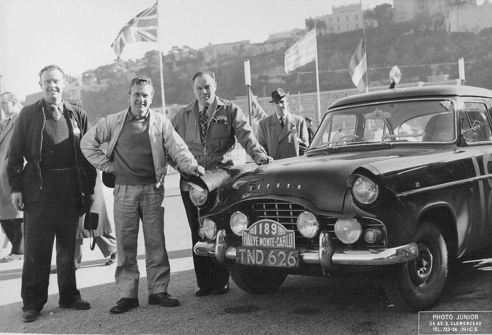 John Boardman monte carlo 1958