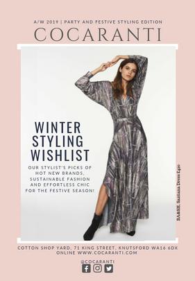 Re-brand and digital marketing consultancy for premium fashion retailer.