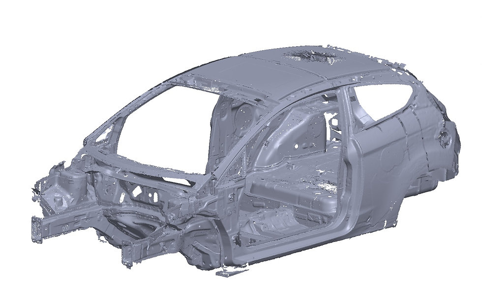 Ford Fiesta Mk 7 3d scan bms design ltd