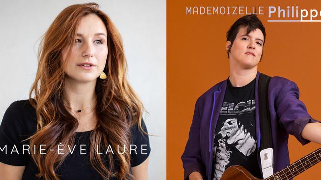 Marie-Ève Laure et Mademoizelle Philippe