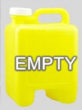 Empty Chlorine Jug