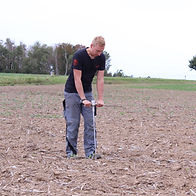 Farming with Agreto Soil Compaction Tester