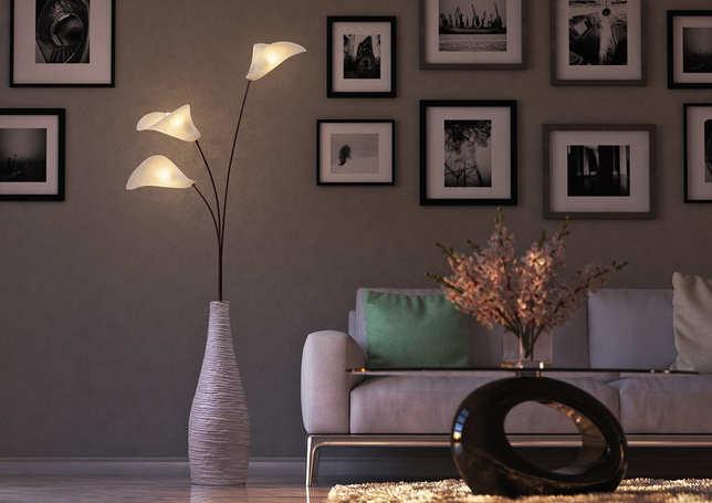 Calla floor lamp