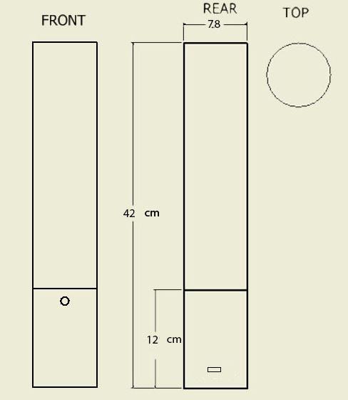 Pillario portable dimensions