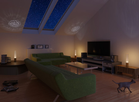 Mood  lighting - lounge vibe to relax and revive