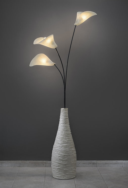 Calla floor lamp by studio mimesis