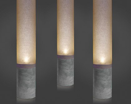 Chaining lamps : simple method for  modular mood lighting