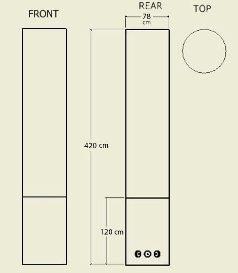 Pillarion Univo dimensions