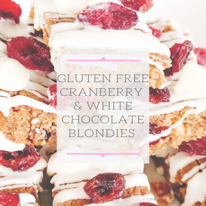 Two Bite Holiday Blondies