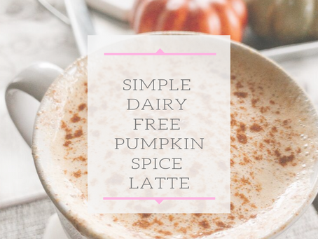 Simple Dairy Free PSL