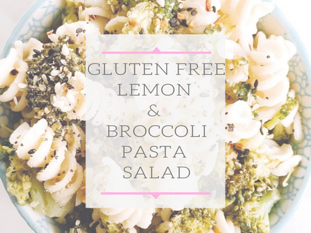 Lemon & Broccoli Pasta Salad