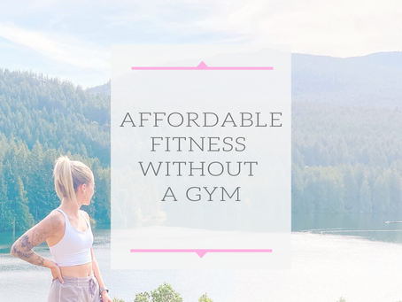 Affordable At Home Fitness