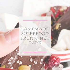 Holiday Superfood Fruit & Nut Bark