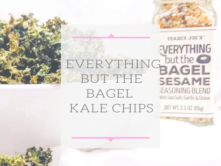 Everything But The Bagel Kale Chips