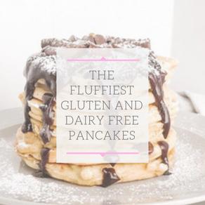 Easy Fluffy Pancakes (GF, DF)
