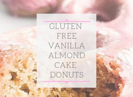 Almond Vanilla Baked Donuts
