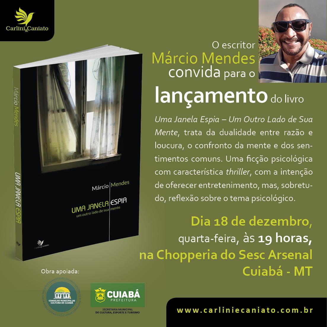 Convite - Márcio Mendes