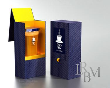 Luxury Coffee packaging rigid box