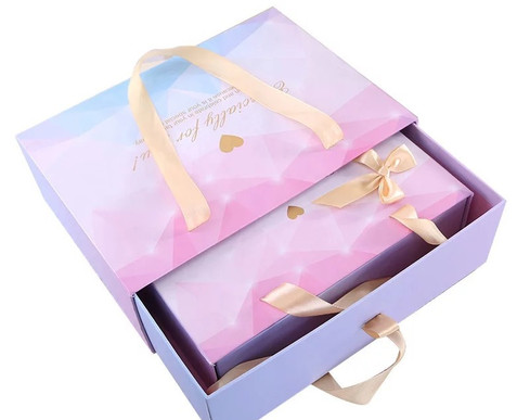 Beautiful Pastel Shades Gift boxes with Ribbons and Bows