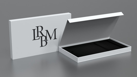 Luxurious Magnetic Flap Open Rigid boxes supplier from India