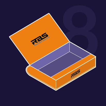 customized packaging boxes sivakasi book type box