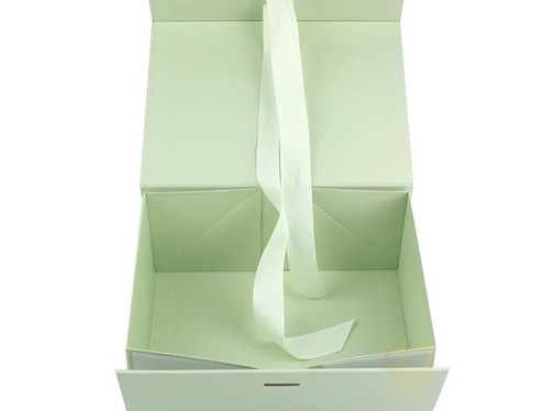 Pastel Green adorable cardboard gift boxes from Indian Rigid Boxes Manufacturer