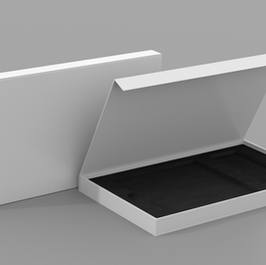 Luxury Flat Open Rigid Box