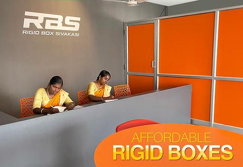 Reception-rigid box-manufacture-sivakasi