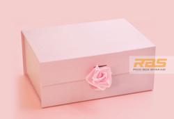 Rigid Paper Box | Foldable Gift Box With Ribbon