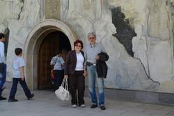 Мартен Калеев и съпругата