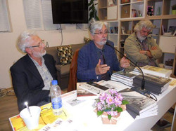 Мартен Калеев и главни редактори