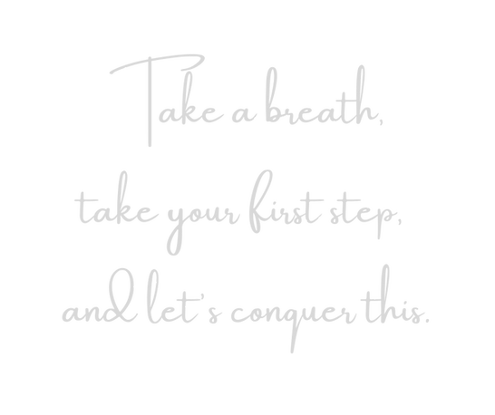 Copy of Take a breath, take your first s