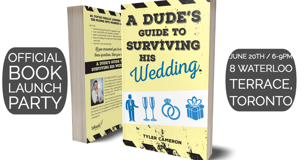 Blog | A Dude's Guide to Surviving His Wedding | Tyler Cameron, Author