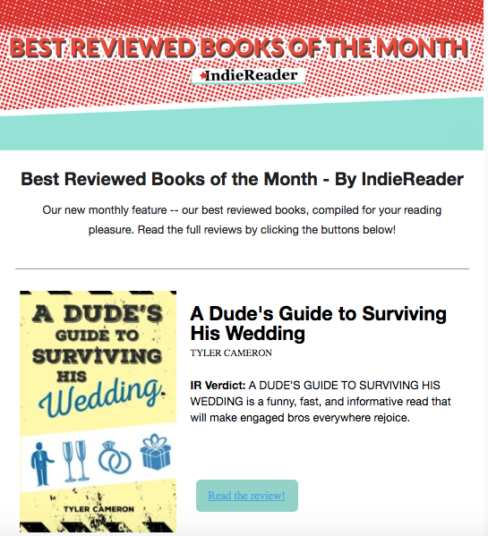 Blog   A Dude's Guide to Surviving His Wedding   Tyler Cameron, Author
