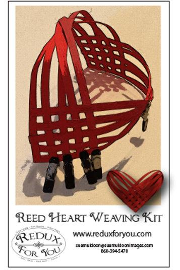 Reed Heart Weaving Kit