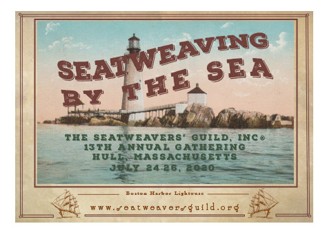 Mark your calendars! The 13th Annual SeatWeavers' Guild Gathering