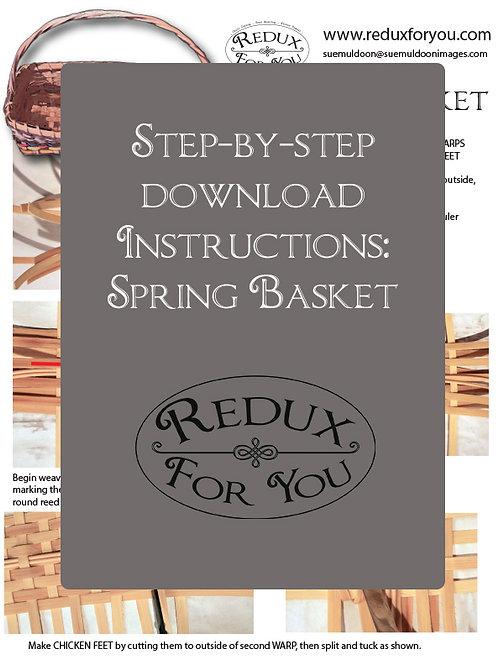 Spring Basket Instructions