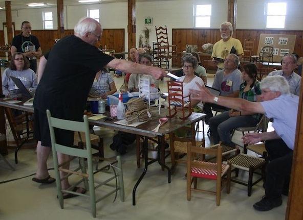 Tom Holtkamp weaving demo TSWG 2011